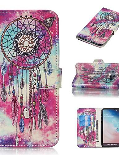 Etui Til Samsung Galaxy S9 / S9 Plus / S8 Plus Lommebok / Kortholder / med stativ Heldekkende etui Tegneserie Hard PU Leather