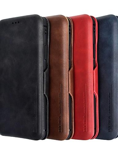 tok Για Apple iPhone XS / iPhone XR / iPhone XS Max Θήκη καρτών Πλήρης Θήκη Μονόχρωμο Σκληρή PU δέρμα