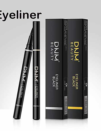 preiswerte Eyeliner-wasserdichter schnell trocknender Eyeliner schwarzer Eyeliner Make-up-Tool eingebaute Stahlkugel