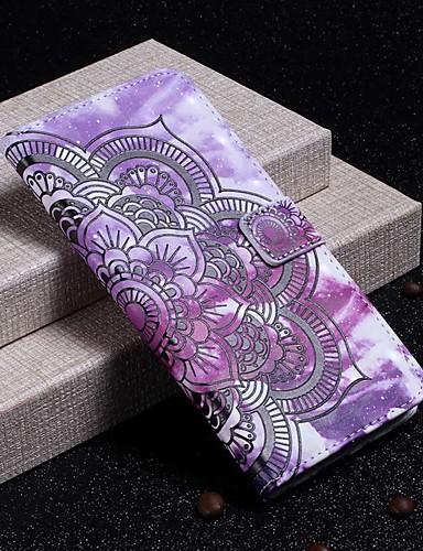 tok Για Samsung Galaxy S9 / S9 Plus / S8 Plus Πορτοφόλι / Θήκη καρτών / Ανθεκτική σε πτώσεις Πλήρης Θήκη Λουλούδι Σκληρή PU δέρμα