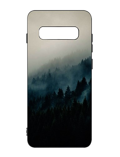 Capinha Para Samsung Galaxy S9 / S9 Plus / S8 Plus Antichoque / Áspero / Estampada Capa traseira Cenário TPU