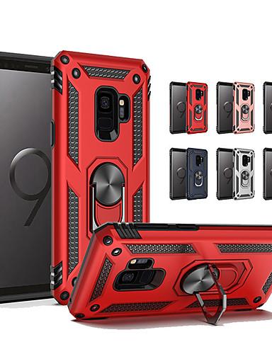Etui Til Samsung Galaxy S9 / S9 Plus / S8 Plus Støtsikker / Ringholder Bakdeksel Rustning Hard TPU / PC
