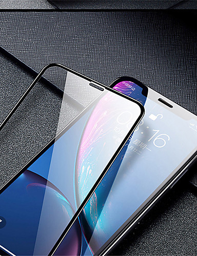 Protetor de tela de borda curvada completa de vidro temperado para iphone x xs xr max Protetor de tela de vidro temperada para iphone xr xs max