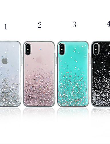 περίπτωση για Apple iPhone xr / iphone xs maxglitter λάμψη / shockproof πίσω κάλυμμα λάμψη λάμψη μαλακό tpu για iphone 6 / iphone 6 plus / 7 / 7pius / 8 / 8pius / x / xs
