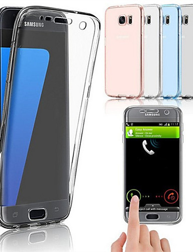 Etui Til Samsung Galaxy S9 / S9 Plus / S8 Plus Ultratynn Heldekkende etui Ensfarget Myk TPU