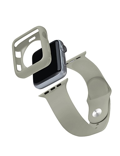 Veske med bånd Til Apple Watch Series 4/3/2/1 TPU / Silikon kompatibilitet Apple
