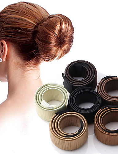 preiswerte Parykopfbedeckungen-Mix Stirnbänder / Haar-Werkzeug / Haar-Stock mit Schnürsenkel 1pack Freizeitskleidung Kopfschmuck