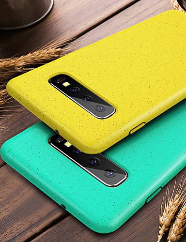 miljøvennlig silikonetui til Samsung Galaxy S10 Plus S10e S10 støtdempende airbagveske til Samsung S10 Plus TPU-deksel deksel