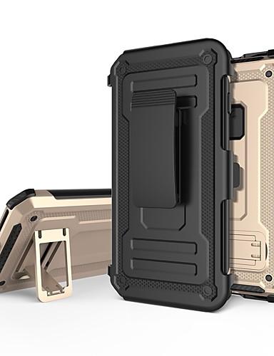 Capinha Para Apple iPhone 8 Plus / iPhone 7 Plus Antichoque / Com Suporte Capa traseira Armadura PC