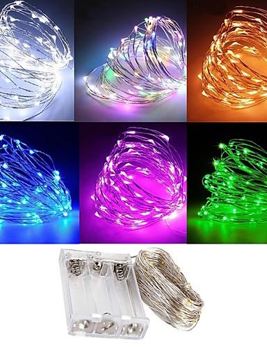 preiswerte Von Bloggern gestaltet-zdm wasserdicht 3m 30 led 3aa batterie fairy lichterkette firefly lichter weihnachten decor christmas lights multi farbe
