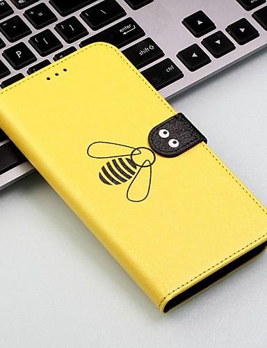 Etui Til Motorola Moto G7 / Moto G7 Plus / Moto G7 Play Lommebok / Kortholder / Støtsikker Heldekkende etui Flise / Dyr Hard PU Leather
