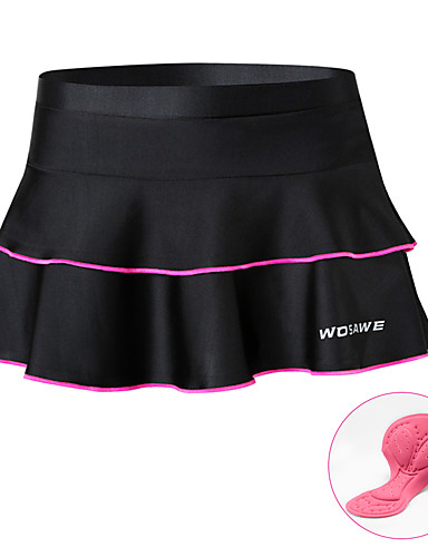 Women/'s Cycling Padded Pants Mountain Bike Skirt Tights Bicycle Trousers S-XL