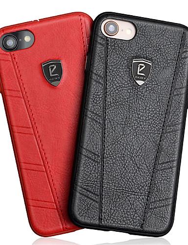 tok Για Apple iPhone XS / iPhone XR / iPhone XS Max Ανθεκτική σε πτώσεις Πίσω Κάλυμμα Μονόχρωμο Σκληρή PU δέρμα