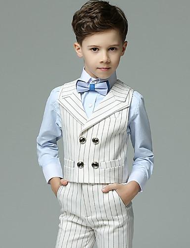 Djeca Dječaci Osnovni Jednobojni Dugih rukava Regularna Normalne dužine Komplet odjeće Obala