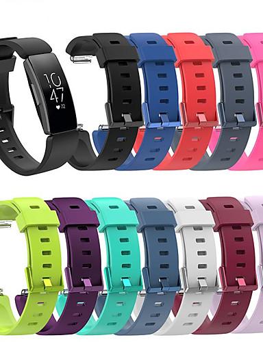 Klokkerem til Fitbit Inspire HR / Fitbit Inspire Fitbit Sportsrem Silikon Håndleddsrem