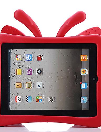 Capinha Para Apple iPad 4/3/2 Segura Para Crianças Capa traseira Sólido / Borboleta / Desenhos 3D EVA