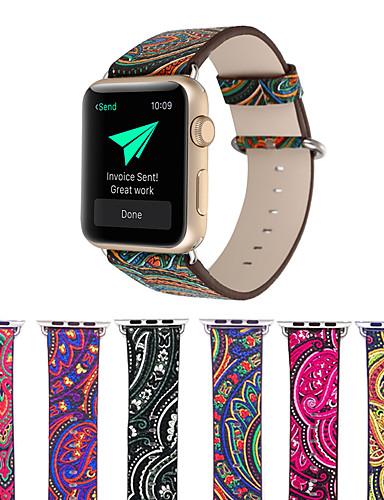 Παρακολουθήστε Band για Apple Watch Series 5/4/3/2/1 Apple Μοντέρνο Κούμπωμα Γνήσιο δέρμα Λουράκι Καρπού