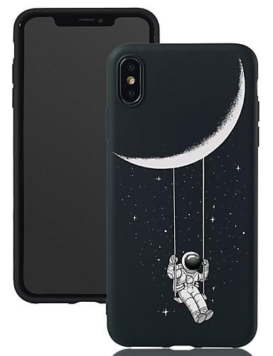 caso para apple iphone xr / iphone xs padrão máximo / fosco / shockproof tampa traseira céu macio tpu para iphone 5 / se / 5s / 6/6 s plus / 7/8 plus / xs / x
