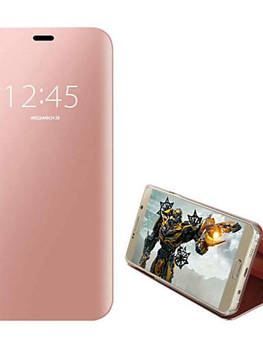 tok Για Samsung Galaxy S7 edge Προστασία από τη σκόνη / Επιμεταλλωμένη / Ανοιγόμενη Πλήρης Θήκη Μονόχρωμο Σκληρή PU δέρμα / Ψημένο γυαλί / PC
