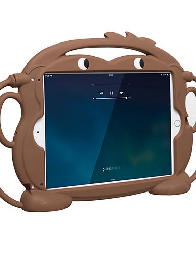 Capinha Para Apple iPad Mini 5 / iPad Mini 3/2/1 / iPad Mini 4 Antichoque / Caso seguro para as crianças Capa traseira Sólido / Animal / Desenhos 3D silica Gel