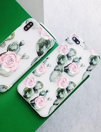 Etui Til Apple iPhone XS / iPhone XR / iPhone XS Max Støtsikker / Støvtett / Vannavvisende Bakdeksel / Heldekkende etui Blomsternål i krystall Hard TPU / silica Gel