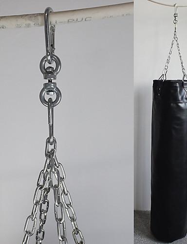 povoljno Vježbanje, fitness i joga-Vreća za udaranje Za Boks Trening u teretani Sanda ispunjen Trening snage Umjetna koža Odrasli - Crn