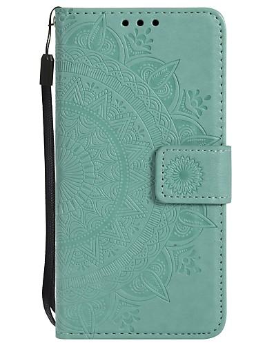 tok Για Samsung Galaxy S6 edge / S6 / S5 Πορτοφόλι / Ανθεκτική σε πτώσεις / Ανοιγόμενη Πλήρης Θήκη Λουλούδι Σκληρή PU δέρμα