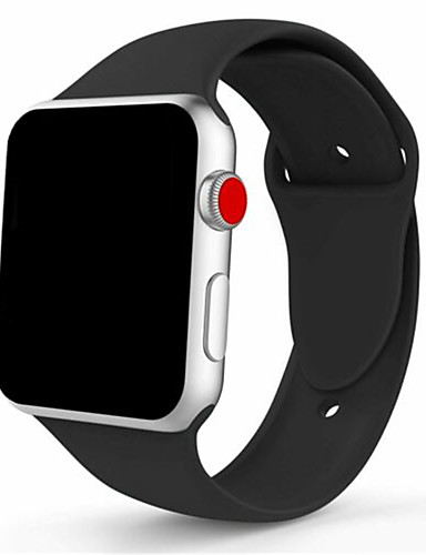 silikon sport band stropp for Apple Watch iwatch serie 4 3 2 1 38 / 40mm 42 / 44mm