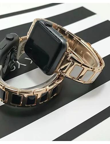 Klokkerem til Apple Watch Series 5/4/3/2/1 Apple Klassisk spenne Rustfritt stål / Keramikk Håndleddsrem