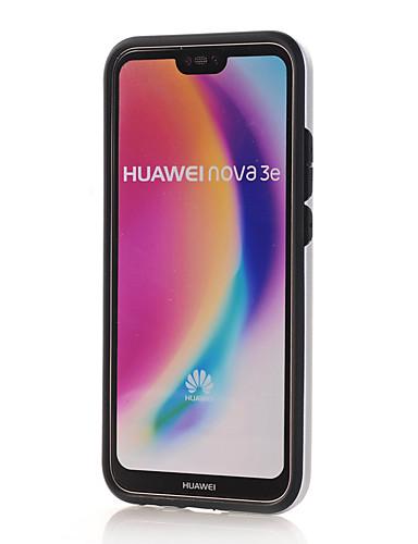 Capinha Para Huawei Huawei P20 lite Anti-poeira / Áspero Capa traseira Sólido PC