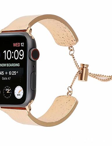 Pulseiras de Relógio para Apple Watch Series 5/4/3/2/1 Apple Modelo da Bijuteria Aço Inoxidável Tira de Pulso