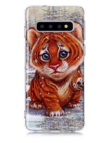 Capinha Para Samsung Galaxy S9 / S9 Plus / S8 Plus IMD / Estampada Capa traseira Animal TPU