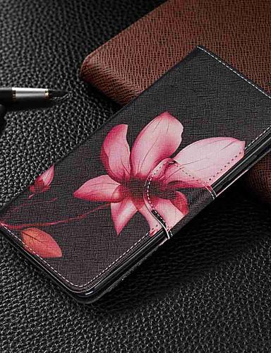 tok Για Xiaomi Xiaomi Redmi 6 Pro / Xiaomi Redmi Note 7 / Xiaomi Redmi 7 Πορτοφόλι / Θήκη καρτών / με βάση στήριξης Πλήρης Θήκη Λουλούδι Σκληρή PU δέρμα