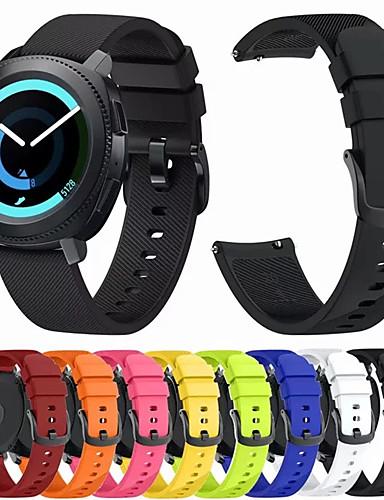 Klokkerem til Huawei Watch 2 Huawei Sportsrem / Klassisk spenne Silikon Håndleddsrem