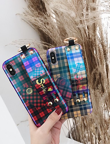 Capinha Para Apple iPhone XS / iPhone XR / iPhone XS Max Antichoque / Estampada Capa traseira Palavra / Frase / Estampa Geométrica TPU