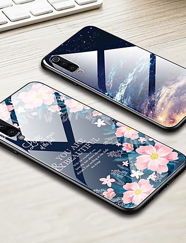 βιτρό κέλυφος τηλέφωνο περίπτωση κέλυφος για xiaomi mi 9 mi 8 lite mi 8 mi 6x mi 5x mi a2 mi a1 γυαλιστερό γυαλισμένο γυαλί σκληρό κάλυμμα tpu άκρη