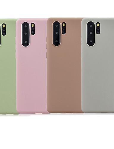 tok Για Huawei Huawei P20 / Huawei P20 Pro / Huawei P20 lite Παγωμένη Πίσω Κάλυμμα Μονόχρωμο Μαλακή TPU / P10 Lite