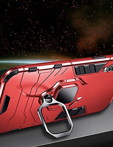 luksus armour ring stativveske til Samsung Galaxy A70 a50 støtdempende deksel a90 a40 a30 a20 a10 a9 2018 a7 2018 a8 2018 a8 pluss 2018 myk silikon tpu bilholder tilfelle