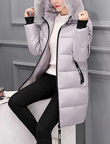 levne Dámské parky a paleta-Dongguan pby_0ig3 (stejná barva jako pby_08my) zimní štíhlá dlouhá móda štíhlá hubená velká kožešinová límec plus velikost dolů bunda bavlněná dámská white_m