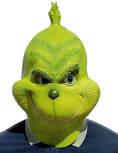 povoljno Maske i kostimi-Rekviziti za Noć vještica Maska za maskiranje Inspirirana Čudovišta Cookie Anime Zelen Cosplay Halloween Halloween Karneval Maškare Odrasli Muškarci Žene