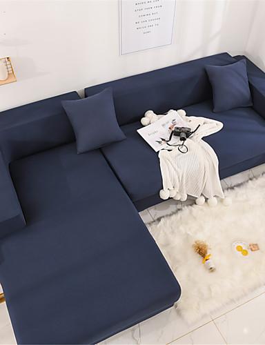preiswerte Bettbezüge im Angebot-Sofabezug Romantisch Garngefärbt Polyester / Baumwoll Mischung Überzüge