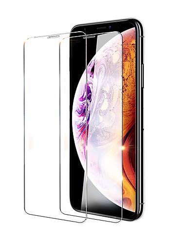 1 Piezas SONWO Cristal Templado iPhone XR Dureza 9H Protector de Pantalla Cristal Templado HD para Apple iPhone XR