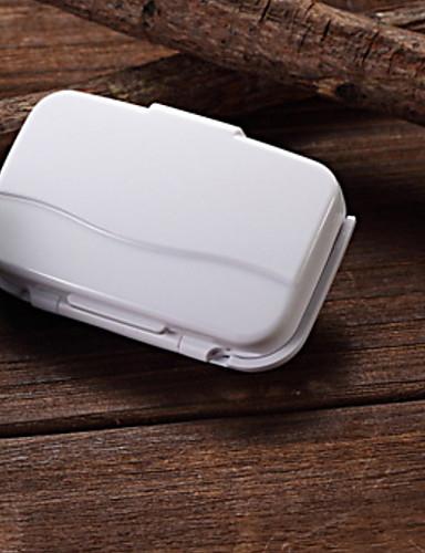 preiswerte Laufsport elektronische Geräte-H-215G Elektronischer Schrittzähler Andere OS Outdoor / LED-Lampe / Extraleicht(UL) Schwerkraft-Sensor Fasergemisch Pearl White