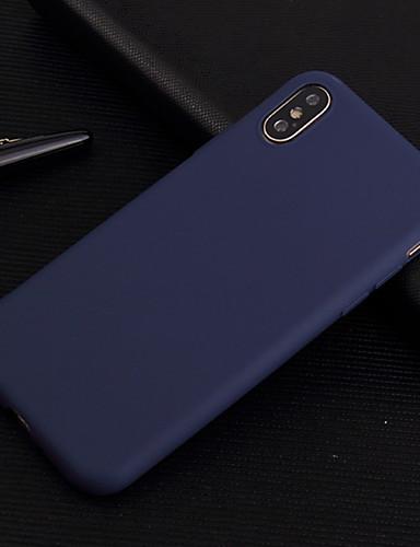 tilfelle for Apple iPhone 6 / iPhone xs maks støtbestendig bakdeksel solid farget mykt tpu for iphone 5c / iphone se / 5s / iphone 6