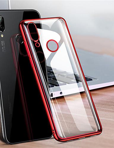 ultra tynn gjennomsiktig telefonveske til xiaomi redmi notat 7 / notat 7 pro / redmi 7 / notat 6 pro / notat 6/6 pro / 6a / notat 5 pro / note 5a / 5 pluss / 5a / redmi 5 plating mykt tpu silikon