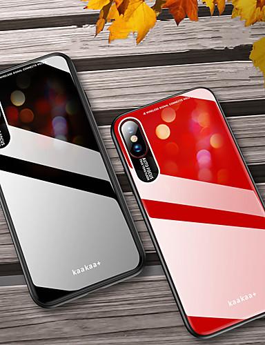 Caso de telefone plexiglass para iphone x x xs max x x à prova de choque pc espelho tampa traseira dura para o iphone 8 plus 8 7 plus 7 6 plus 6 tpu caso borda