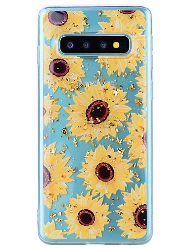tok Για Samsung Galaxy Note 9 / Note 8 Ανθεκτική σε πτώσεις / Διαφανής / Με σχέδια Πίσω Κάλυμμα Λουλούδι Μαλακή TPU