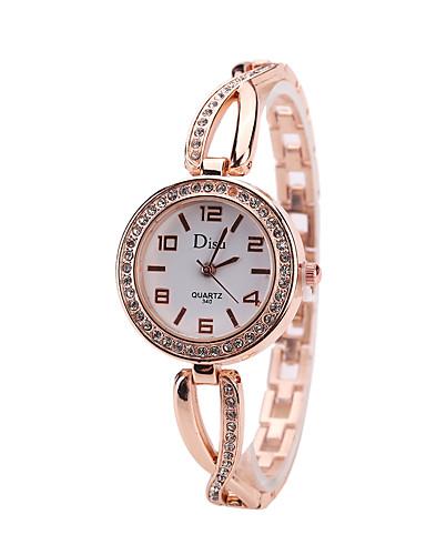 Mulheres Relógios de Quartzo Casual Fashion Prata Ouro Rose Lega Chinês Quartzo Rosa Dourado Branco Prata Fofo Criativo Relógio Casual 1 Pça. Analógico