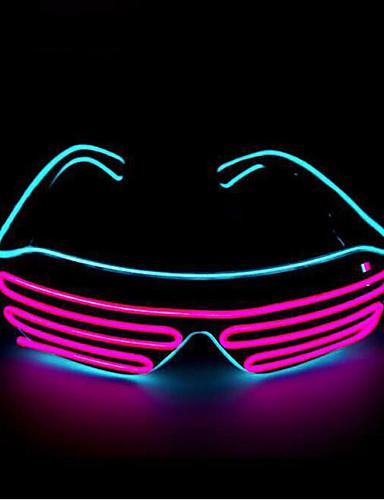 povoljno Maske i kostimi-Ghost Rekviziti za Noć vještica / Turistička Nakit / Maska za maskiranje Boy Punk / Halloween Muškarci Plav / Šarene / Obala PVC Maškare Cosplay pribor Halloween / Karneval / Maškare Kostimi / Žene
