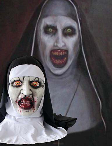 povoljno Maske i kostimi-Mask Maska za Noć vještica Inspirirana Zombi Stravičan film Crn Halloween Karneval Odrasli Muškarci Žene
